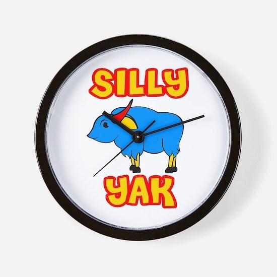 Silly Yak Celiac Wall Clock
