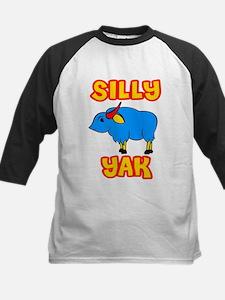 Silly Yak Celiac Kids Baseball Jersey