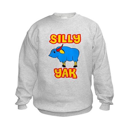 Silly Yak Celiac Kids Sweatshirt