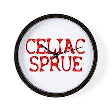 Celiac Sprue Wall Clock