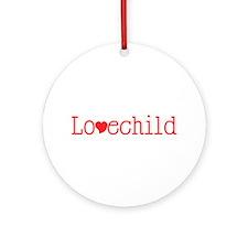 Lovechild Ornament (Round)