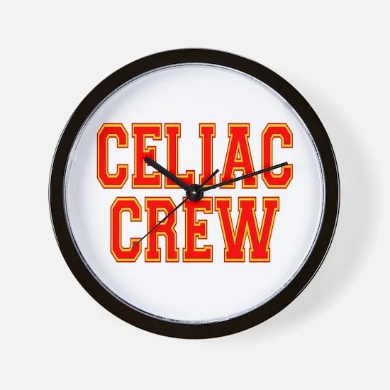 Celiac Crew Wall Clock