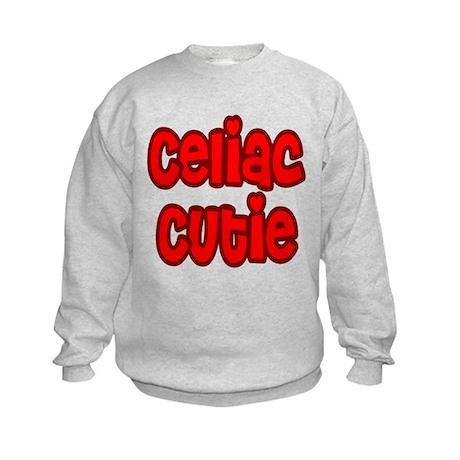 Celiac Cutie Kids Sweatshirt