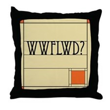 Cute Architect Throw Pillow