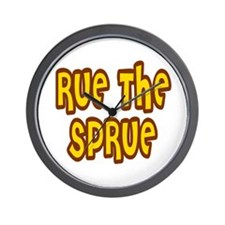 Rue The Sprue Wall Clock