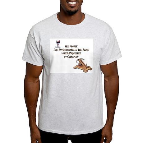 """Catapult"" Ash Grey T-Shirt"
