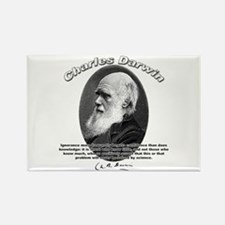 Charles Darwin 01 Rectangle Magnet