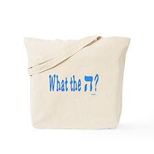 Waht The Hey Funny Jewish Tote Bag