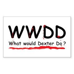 Dexter Gift Rectangle Sticker 50 pk)