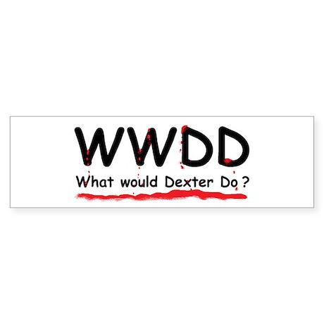 Dexter Gift Bumper Sticker