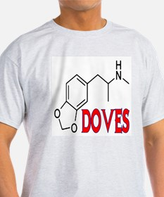 DOVES Ash Grey T-Shirt