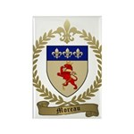 MOREAU Family Crest Rectangle Magnet