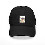 MOREAU Family Crest Black Cap