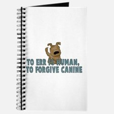 Human vs Canine Journal