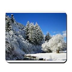 Winter scene Mousepad