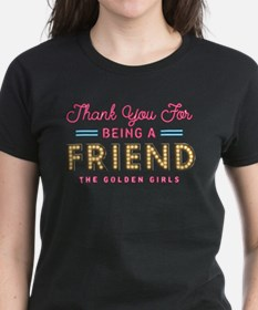 Neon Thank You For Being A Friend T-Shirt
