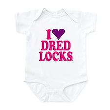I *heart* Dred Locks Infant Bodysuit