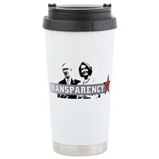 Transparency = Tyrany Travel Mug
