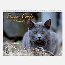 Barn Cats Wall Calendar