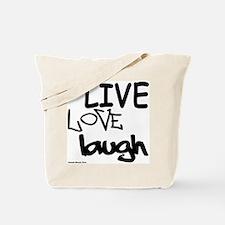 LLL (Black/White) Tote Bag