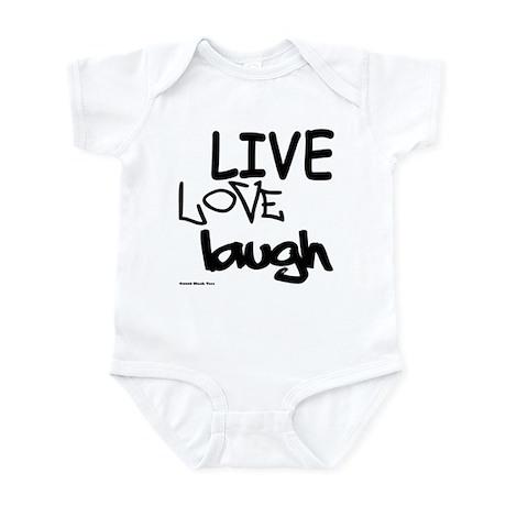 LLL (Black/White) Infant Bodysuit