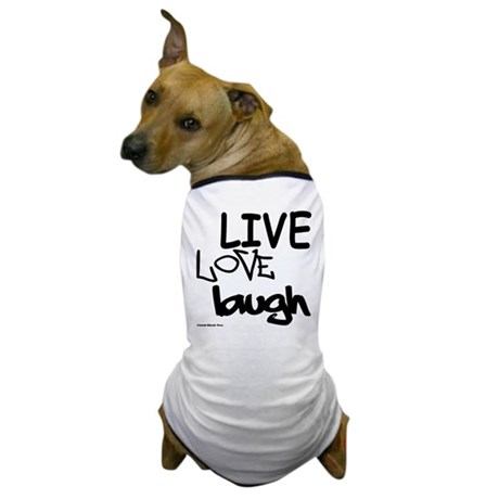 LLL (Black/White) Dog T-Shirt