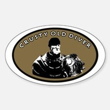 CRUSTY OLD DIVER Decal