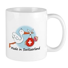 Stork Baby Switzerland Mug