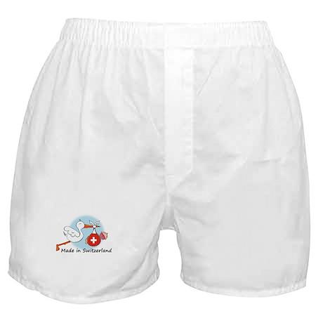 Stork Baby Switzerland Boxer Shorts