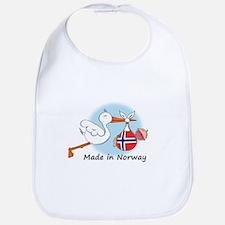 Stork Baby Norway Bib