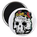 Day of the Dead Skull Magnet