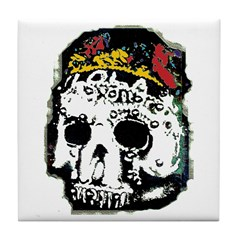 Day of the Dead Skull Tile Coaster