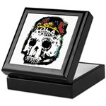 Day of the Dead Skull Keepsake Box
