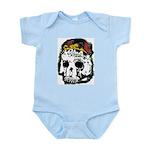 Day of the Dead Skull Infant Creeper