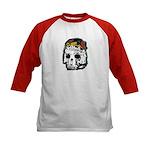 Day of the Dead Skull Kids Baseball Jersey