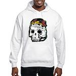 Day of the Dead Skull Hooded Sweatshirt