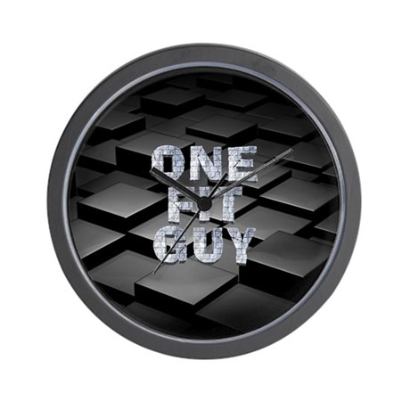 One Fit Guy Wall Clock