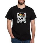 Day of the Dead Skull Black T-Shirt