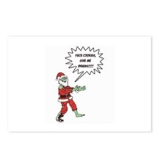 Zombie X-Mas Postcards (Package of 8)