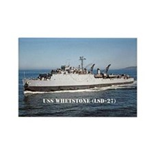 USS WHETSTONE Rectangle Magnet