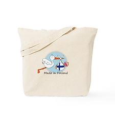 Stork Baby Finland Tote Bag