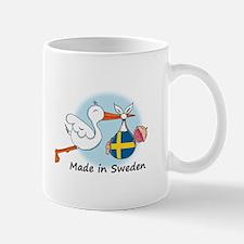Stork Baby Sweden Mug