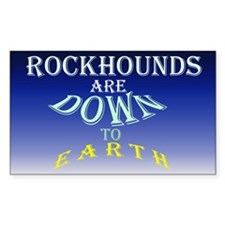 Earth Rockhound Decal
