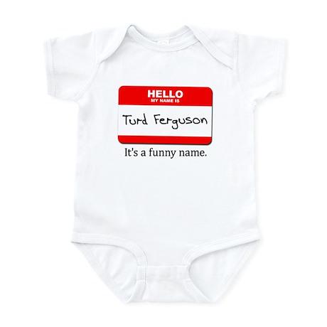 Nametag Infant Bodysuit
