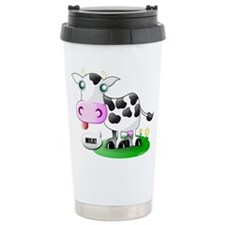Cute Cow Milk Travel Mug