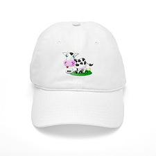 Cute Cow Milk Baseball Cap