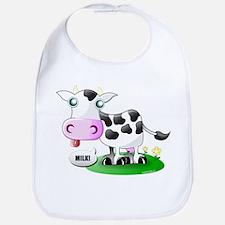 Cute Cow Milk Bib