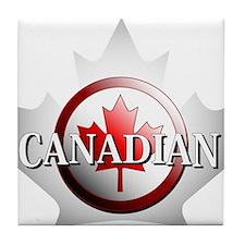 I be Canadian Tile Coaster