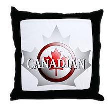I be Canadian Throw Pillow