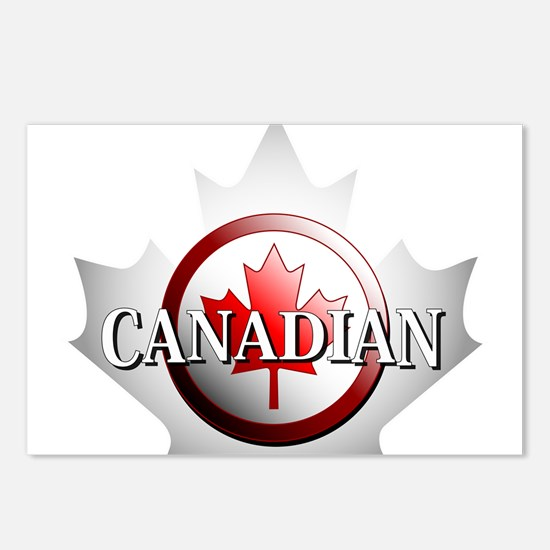 I be Canadian Postcards (Package of 8)